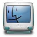 Imac G3 Bondi Blue 2 Emoticon