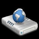 Network Drive Dark Emoticon