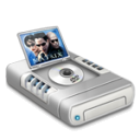 DVD Movies Drive Dark Emoticon