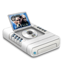 DVD Movies Drive Emoticon
