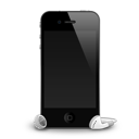 Iphone 4g Headphones Shadow Emoticon