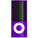 IPod Nano Purple Emoticon