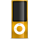 IPod Nano Orange Emoticon