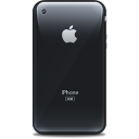 Iphone Retro Black Emoticon