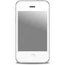 Iphone Front White Emoticon