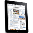 Ipad Side Newspaper Emoticon