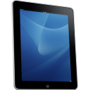 Ipad Side Blue Background Emoticon