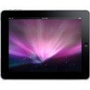 Ipad Landscape Space Background Emoticon