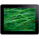 Ipad Landscape Grass Background Emoticon