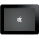 IPad Landscape Apple Logo Emoticon