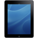 Ipad Front Blue Background Emoticon
