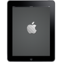 IPad Front Apple Logo Emoticon