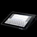Ipad Flip Case Keyboard Emoticon