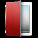 Ipad White Red Cover Emoticon