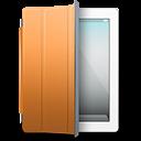Ipad White Orange Cover Emoticon