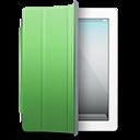 Ipad White Green Cover Emoticon