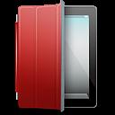 Ipad Black Red Cover Emoticon