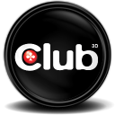 Club 3d Grafikcard Tray Emoticon