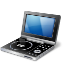 Portable DVD Player Emoticon