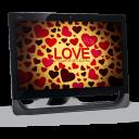 09 Computer Love Emoticon