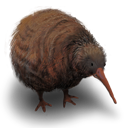 Kiwi Flightless Bird Emoticon