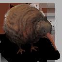 Kiwi Flightless Bird Emoticon