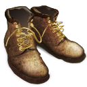 Tramping Boots Emoticon