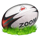 Rugby Ball Emoticon