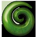 Green Stone Emoticon