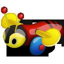 Buzzy Bee Emoticon