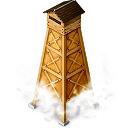 Yagura1 Hot Spring Tower Emoticon