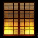 Shoji2 Paper Sliding Door Emoticon