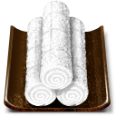 Oshibori Wet Hand Towel Emoticon