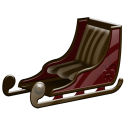 Sleigh Emoticon