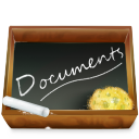 Dossier Ardoise Documents Emoticon