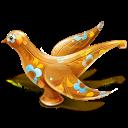 Wood Bird Emoticon