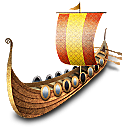 Viking Ship Emoticon