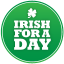 St Patricks Day Irish For A Day Emoticon