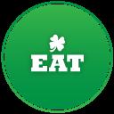 St Patricks Day Eat Emoticon