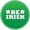 St Patricks Day Be Irish Emoticon