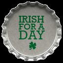 Metal Irish For A Day Emoticon