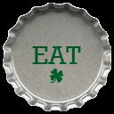 Metal Eat Emoticon