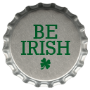 Metal Be Irish Emoticon