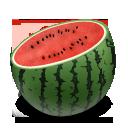 Watermelon Cuts Emoticon