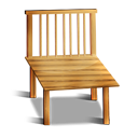 Wood Chair Emoticon