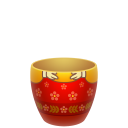 Red Matreshka Lower Part Emoticon