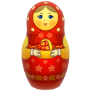 Red Matreshka Emoticon
