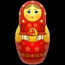 Red Matreshka Emoticon