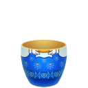 Blue Matreshka Lower Part Emoticon