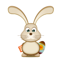 Easter Bunny Rss Egg Emoticon